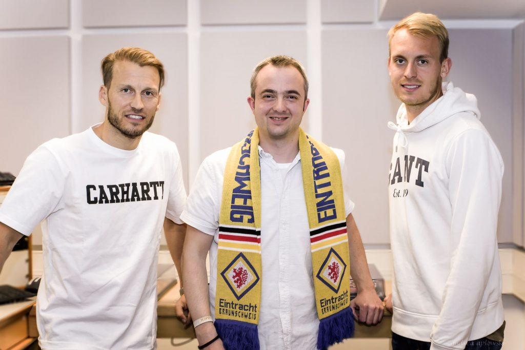 Marc Pfitzner, Markus Hörster und Julius Düker